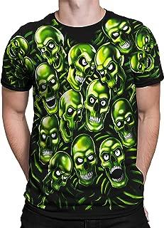 Skull Pile Fantasy All Over Print Short Sleeve T-Shirt