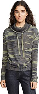 Women's The Camo Cowl Neck Thermal Top