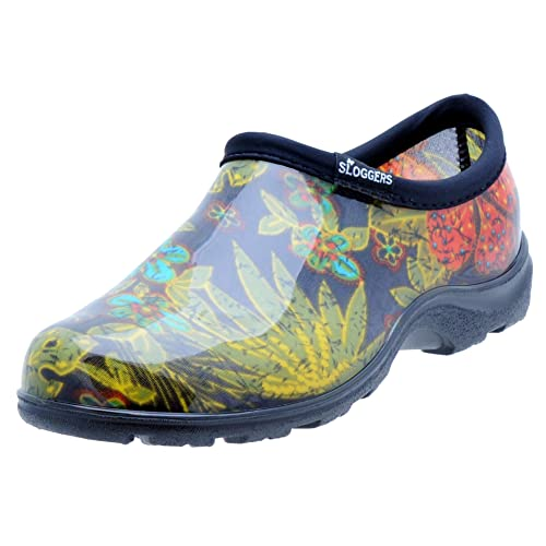 1fcf0430d0229f Sloggers Women s Waterproof Rain and Garden Shoe with Comfort Insole