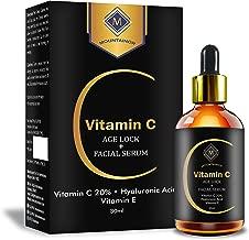 Mountainor Vitamin C Face Serum with 20% Hyaluronic Acid, Vitamin E, Jojoba oil and Retinol (30ml)