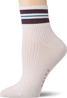 FALKE Damen Socken Style Flower - Baumwollmischung, 1 Paar, Versch. Farben, Größe 35-42 - Modischer Kurzstrumpf aus nachhaltiger Baumwollmischung, femininer, leicht gewellter Abschlussrand
