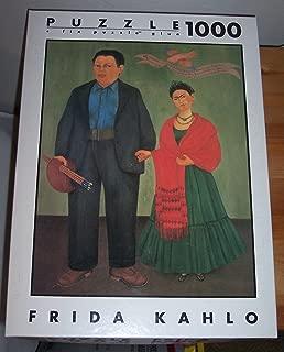 Puzzle 1000 Frida Kahlo -- Frida and Diego Rivera