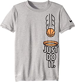 Just Do It Basketball Dri-FIT Short Sleeve Tee (Little Kids)