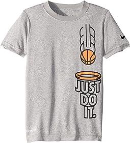 Just Do It Basketball Dri-FIT Short Sleeve Tee (Little Kids)