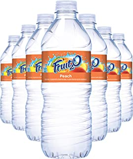 Fruit2o Peach Flavored Water, 16.9 fl oz Plastic Bottles (24 Plastic Bottles)