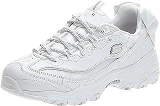 سكيتشرز دي لايتس، حذاء رياضي نسائي، ابيض، 41 EU