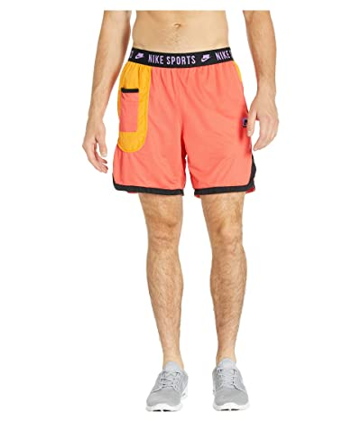 Nike Dry Shorts (Ember Glow/Kumquat/Black/Bright Violet) Men