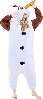 Adult Olaf Unisex Pyjamas Halloween Onesie Costume