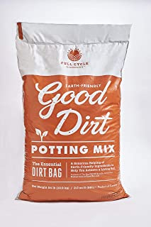 Good Dirt Potting Mix 2 CF Bag, Chemical-Free with Organic-Based Nutrients & PlantBiotics | Perfect for Growing Flowers, Vegetables, Herbs & All Plants | The Essential Dirt Bag!