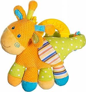 Baby Schnullerkette mit Beißring Schnullerband Beißer Schmusetuch Kuscheltuch