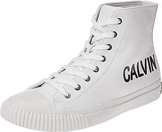 Calvin Klein Lacopo, Men's Fashion Sneakers, Bright white, 42.5 EU