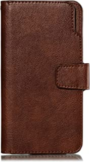 Positive Cover Compatible with Samsung Galaxy S20 Plus, brown PU Leather Wallet Flip Case for Samsung Galaxy S20 Plus