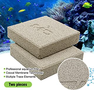 boxtech Aquarium Filter Media, Ceramic Biological Filter Media for Marine and Freshwater Fish Tank