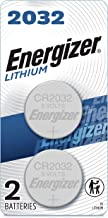 Energizer 2032 Batteries 3V Lithium, (2 Battery Count) Replaces BR2032, DL2032, ECR2032