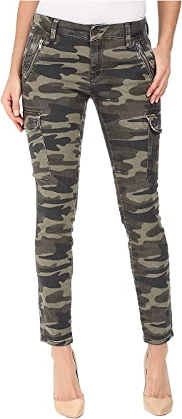 Juliette Skinny Cargo in Military Camouflage