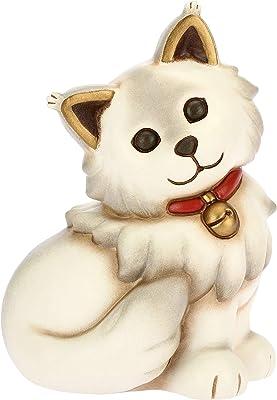 Thun - Main Coon Cat - Medium Size - Ceramic - Dog and Cat Line - 9.8x7.9x14.15 cm h