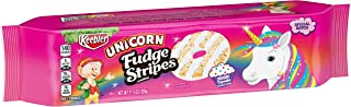 Keebler, Unicorn Fudge Stripes Cookies, Magic Cupcake, Special Batch, 11.5 Ounce