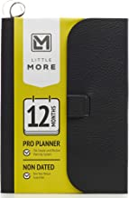Little More Weekly Pro Planner for Work-Life Balance - NO Date Personal Organizer (5 x 8) - Set & Achieve Daily, Weekly, Monthly and Yearly Goals - Diary Notebook for Men and Woman - True 1 Year