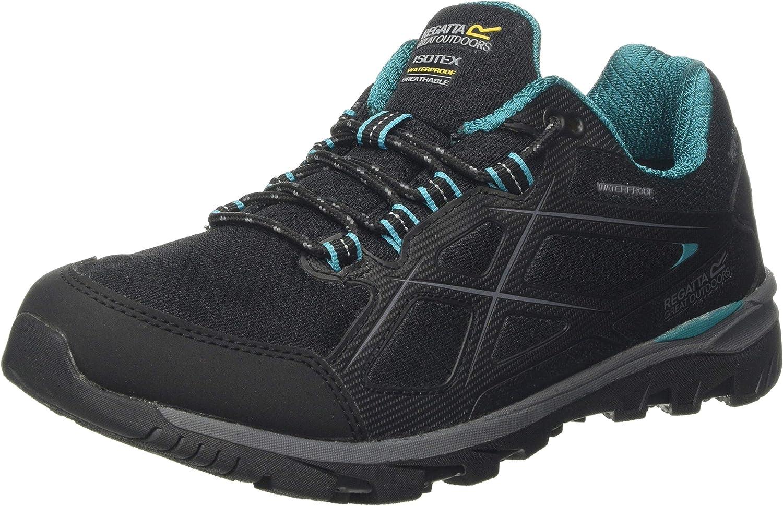 Regatta Women's Low Rise Hiking Boots, Black Black Shorelin 4ba, 7