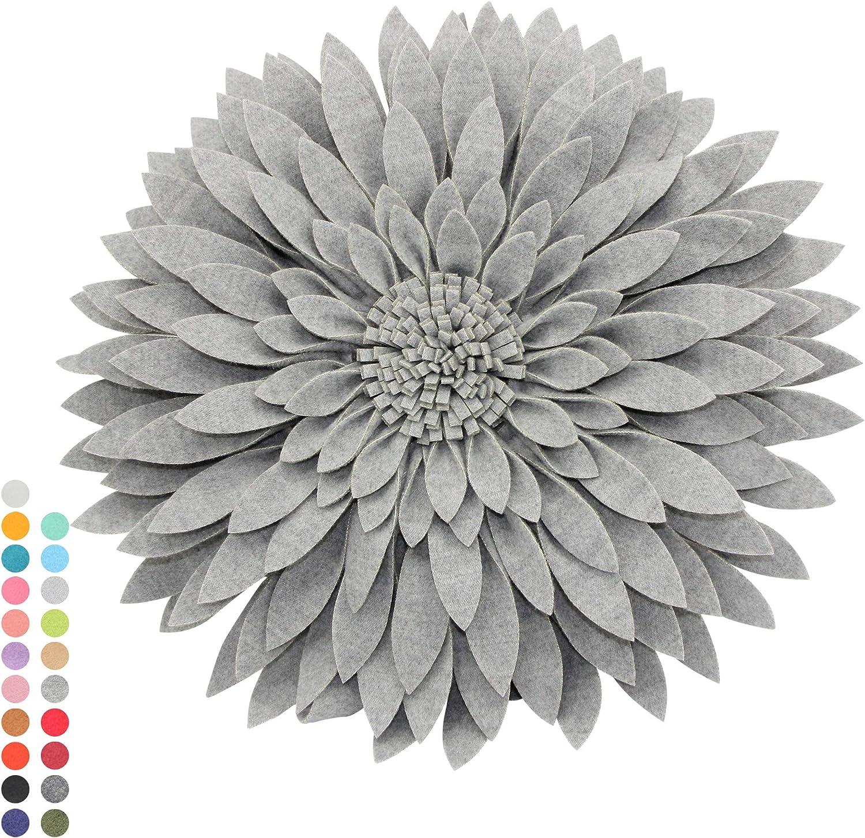 CONTEMPO LIFESTYLES Flower 受賞店 Decorative Pillow Design マーケット Patented - 3