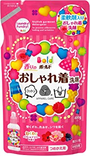 Bold scented fashionable detergent 400g for refilling