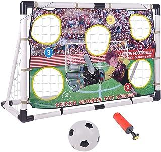 Portzon Portable Soccer Goal Set 47 X 31inch, Includes...