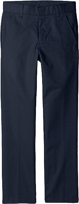 Nautica Kids - Slim Fit Flat Front Pants (Big Kids)