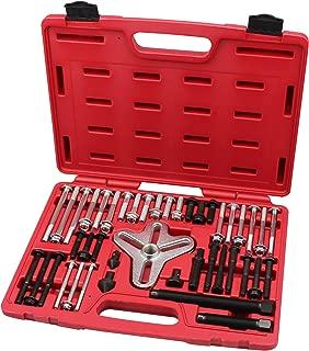 Harmonic Balancer Puller Set Flange-Type Puller Crankshaft pulleys Set with Master Bolt Grip Set- (Grade 8)- By Kauplus