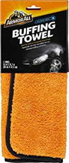 Armor All Microfiber Car Buffing Towels, Cleaner for Cars & Truck & Motorcycle, Supersoft, 17623