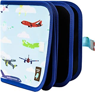 Jaq Jaq Bird Children's Doodle It Mess-Free Chalk Board Doodle and Drawing Book: Reusable, Sparks Creativity, Travel Friendly (Aeroplane)