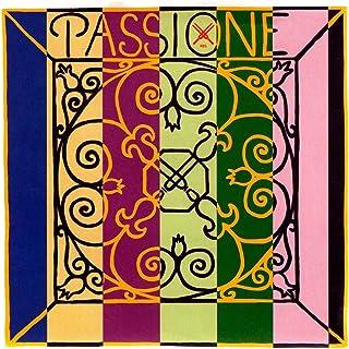 Pirastro Passione 4/4 Violin String Set - Medium Gauge with Loop End E