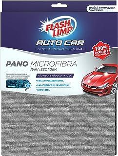 Pano Microfibra Automotivo para Secagem, Azul Petróleo, AUT9447, Flash Limp