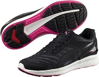 PUMA Women's Ignite V2 WN's, Black- White-Pink Gold,8H Running Shoes