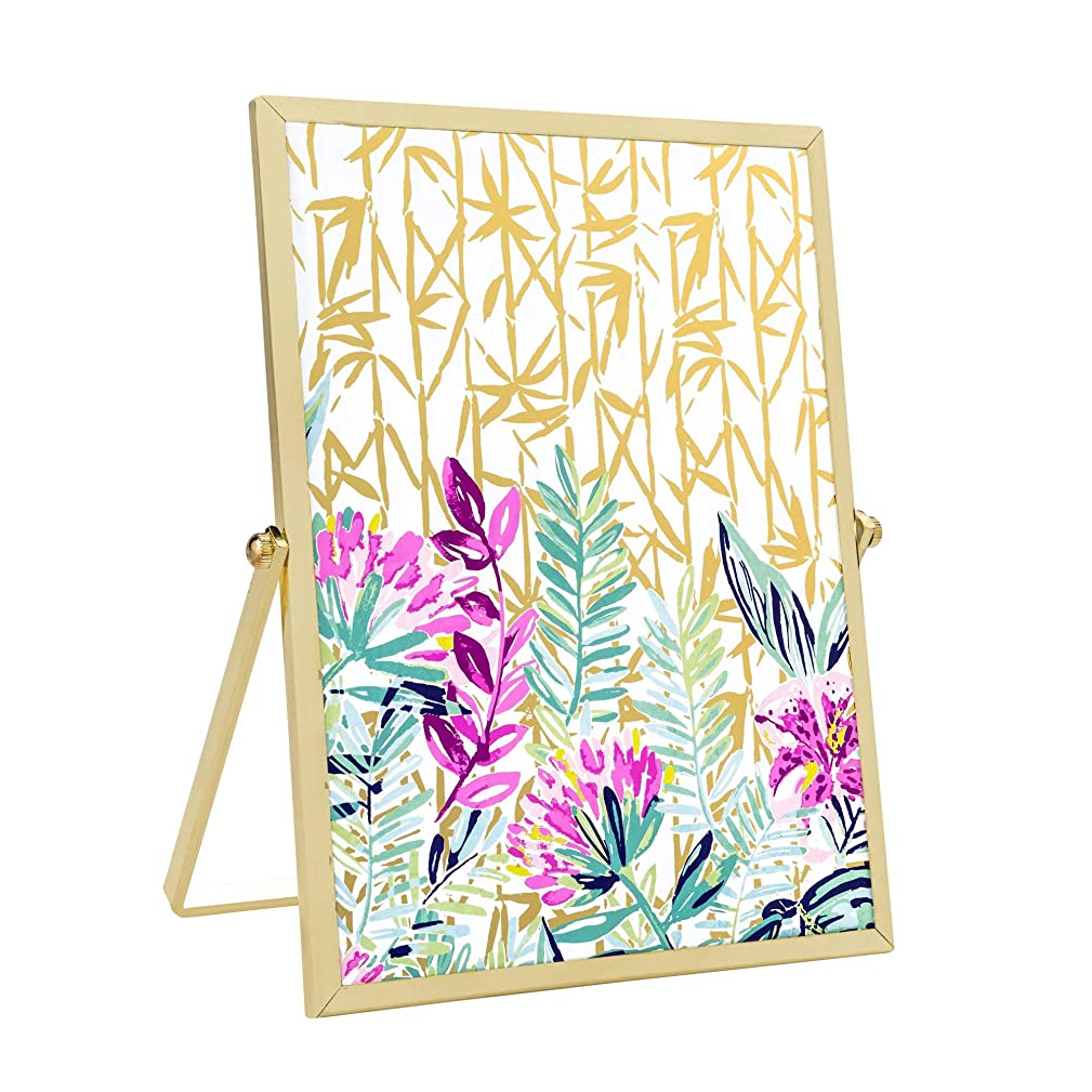 Lilly Pulitzer Gold Easel Picture Frame (Slathouse)
