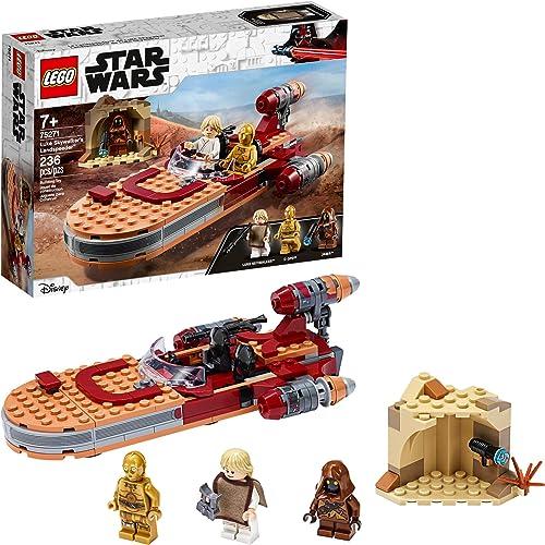 LEGO Star Wars: A New Hope Luke Skywalker's Landspeeder 75271 Building Kit Collectible Star Wars Set (236 Pieces)