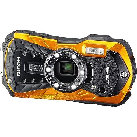Ricoh WG 50 Fotocamera Compatta Impermeabile, Arancio