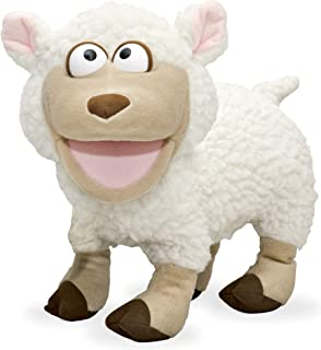 """14"""" Silly Lamb, Animal Hand Puppet"""
