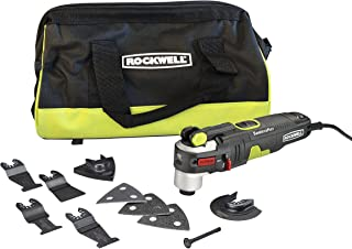 Rockwell AW400 F80 Sonicrafter 4.2 Amp Oscillating Multi-Tool with 9 Accessories and Carry Bag
