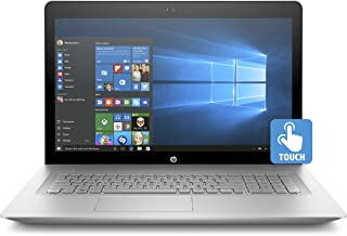 HP Envy 17-inch Laptop, Intel Core i7-7500U, NVIDIA GeForce 940MX, 12GB RAM, 1TB Hard Drive, Windows 10 (17-u110nr, Silver)