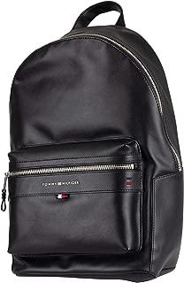 Tommy Hilfiger Men's Elevated Backpack, Black