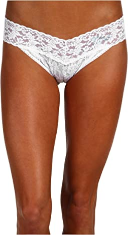 """Mrs."" Original Rise Bridal Thong"