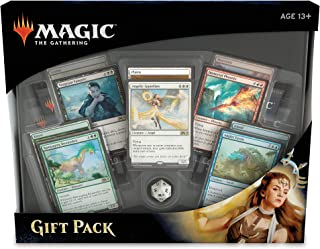 Magic: The Gathering Gift Pack 2018 | 4 Booster Packs | 5 Rare Creature Cards | 5 Foil Land Cards