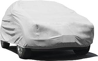 """غطاء سيارة Budge Lite يناسب سيارات السيدان حتى 157 بوصة، B-1 - (البولي بروبيلين، رمادي), Size U1: Fits SUVs up to 15'6"""" Lo..."""