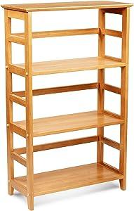 Civet Home Bookshelf, Honey