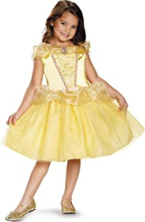 Belle Classic Disney Princess Beauty & The Beast Costume, One Color, Small/4-6X