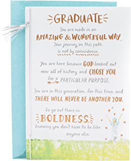 DaySpring Religious Graduation Card (There Will Never Be Another You)