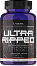 Ultimate Nutrition Ultra Ripped Potent Metabolism Booster with All Natural Fat Burning Ingredients, 180 Capsules