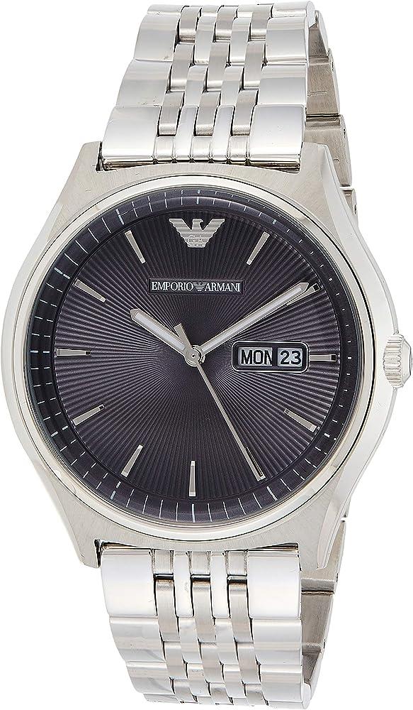 Emporio armani orologio analogico per uomo  in acciaio inossidabile AR1977