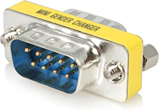 StarTech.com Slimline Serial DB9 Gender Changer - M/M - Serial gender changer - DB-9 (M) to DB-9 (M) - GC9SM
