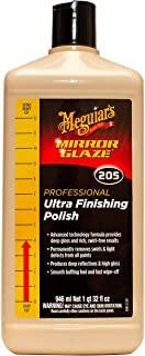 Meguiar's M20532 Mirror Glaze Ultra Finishing Polish, 32 Fluid Ounces, 1 Pack